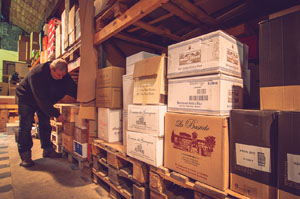 Cave a vin liege